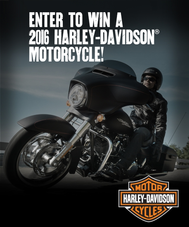 Win a Harley!